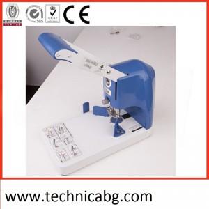 Професионална машина за заобляне SG-30 в комплект с елементи R6 и R10 до 300листа