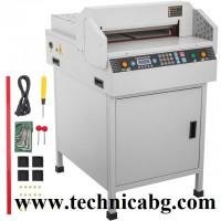 Професионална електрическа гилотина FRONT 450 VS+ до 450 листа до 450мм.