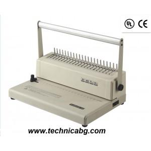 Подвързваща машина с пластмасова спирала Sonto C 15 - до 250 листа