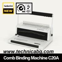 Подвързваща машина с пластмасова спирала Sonto C20А - до 500 листа