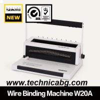 Подвързваща машина с метална спирала Sonto W20А  - перфорира до 20 листа