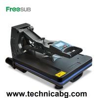 Термопреса с плот 40х50 см. FREESUB ST-4050B - изтеглящ се плот, автоматично отделяне