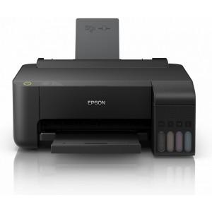 Принтер за сублимация  Epson EcoTank L1110 в комплект с 4х100мл. сублимационно мастило