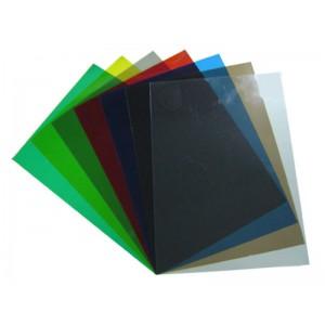 Корици за подвързване PVC - A4 150 мик. ЦВЕТНИ