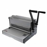 SUPU CW430 - Подвързваща машина с метални гребени и пластмасови безконечни спирали - перфорира до 20 листа